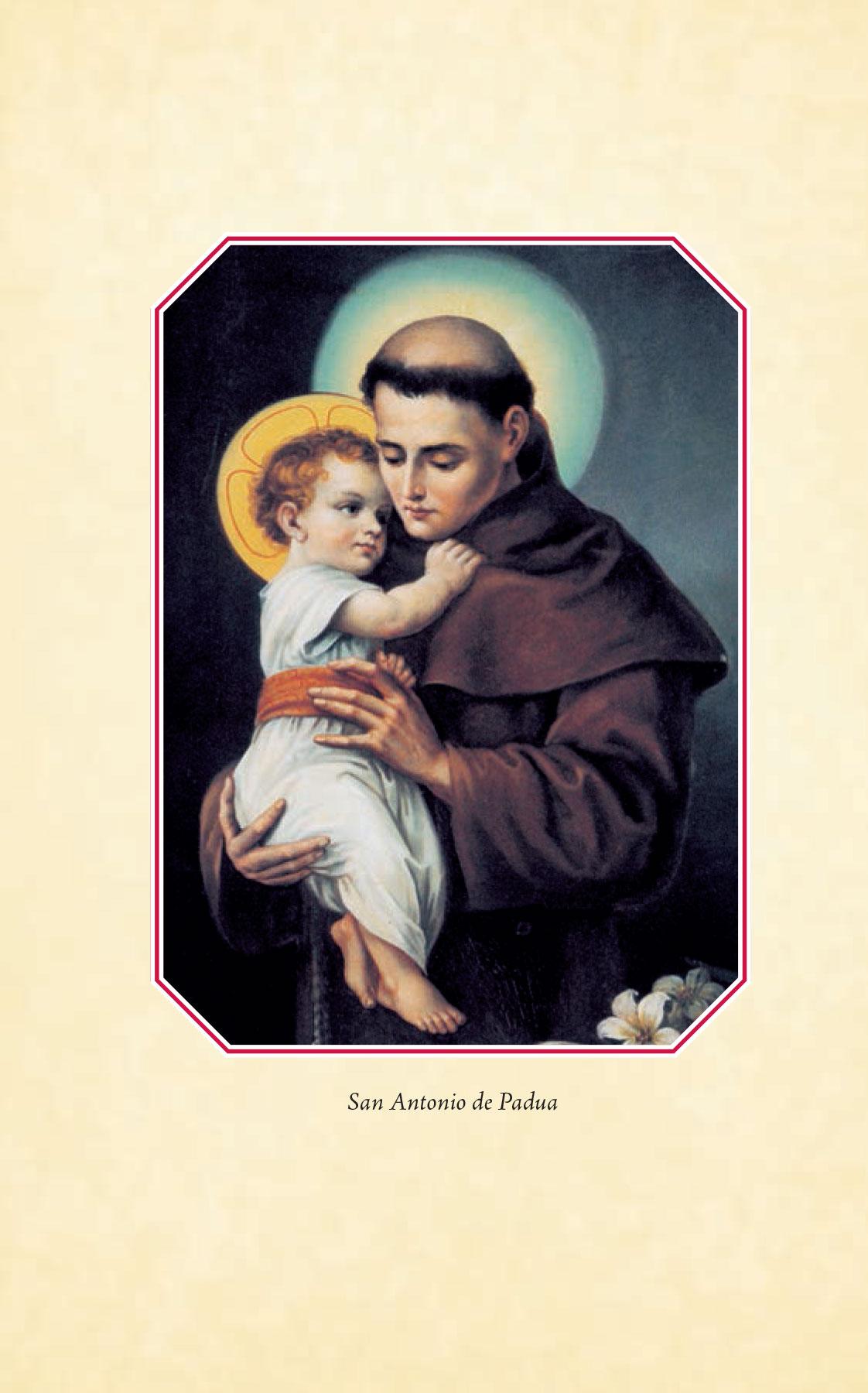 Divino Niño Jesús - San Antonio de Padua y Niño Jesús