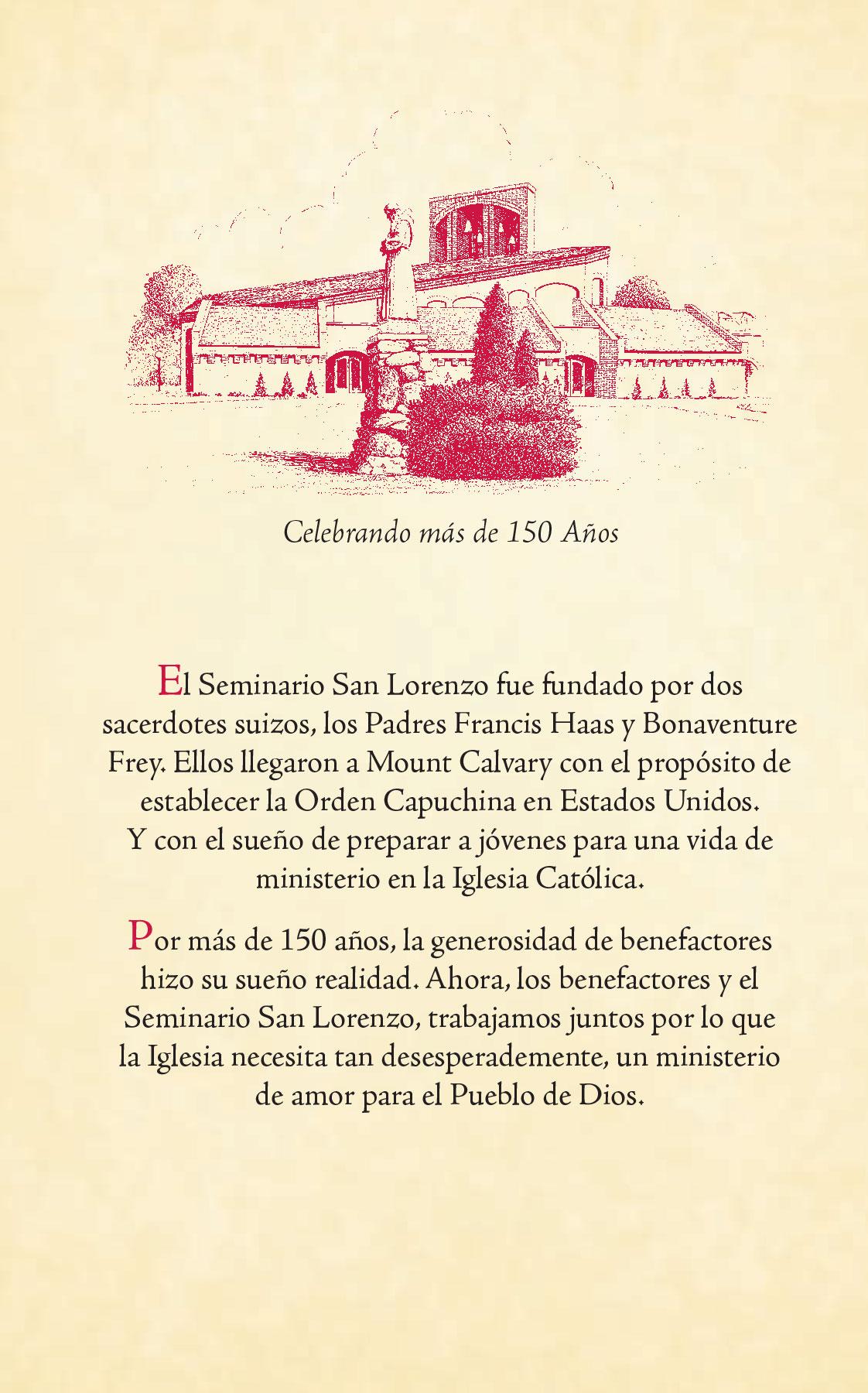 Divino Niño Jesús - Seminario San Lorenzo