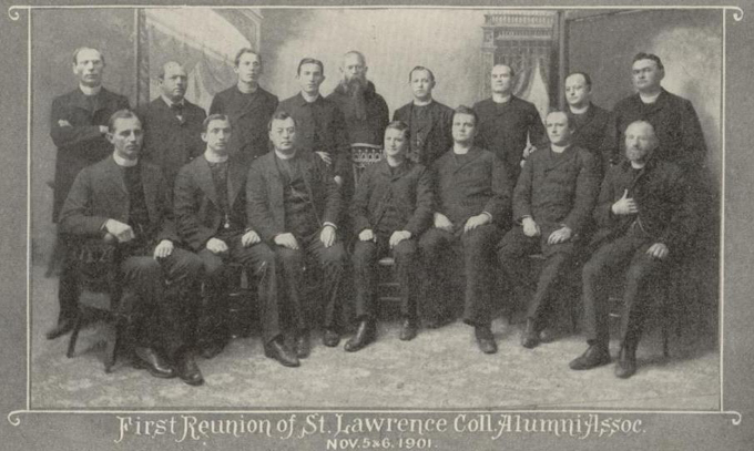 First Reunion of Saint Lawrence College Alumni Association 1901