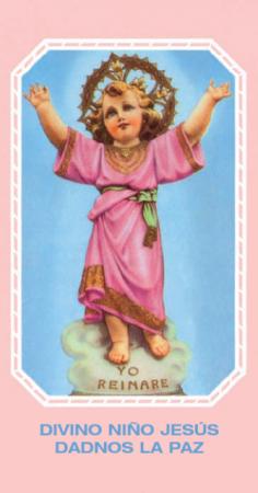 Estampita del Divino Niño (SDNM)