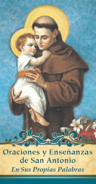 Oraciones y Enseñanzas de San Antonio